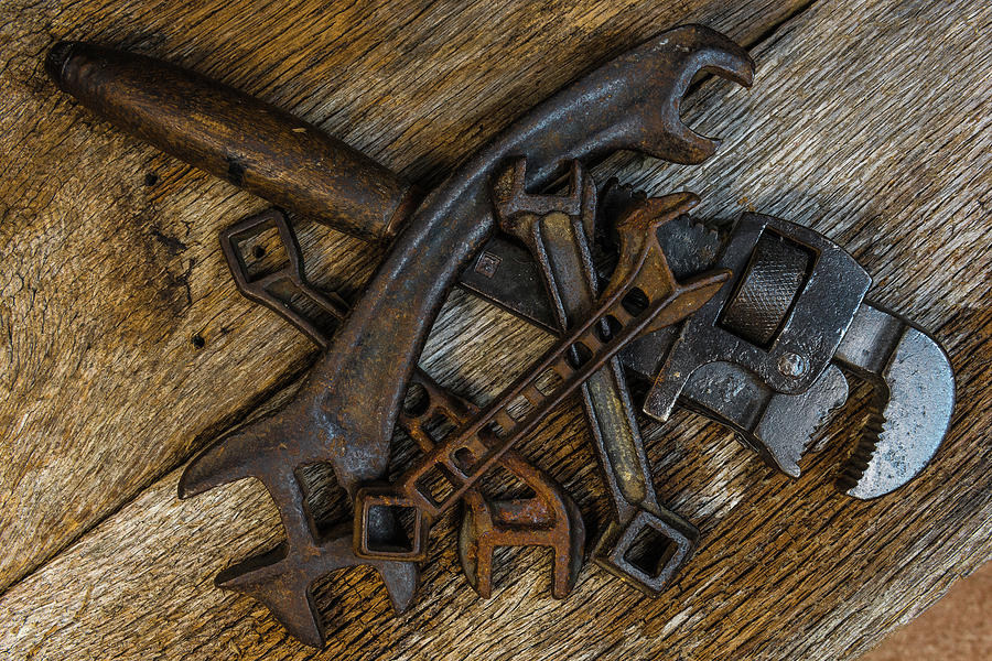The Old Timers Wrenches by Randy Walton