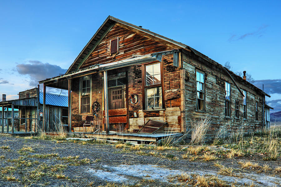 General Store Photograph - The Old Wendel General Store by James Eddy