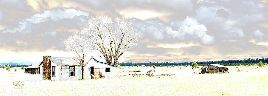 The Old Winter Homestead by Beauty For God