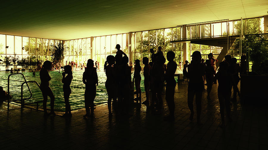 Pool Photograph - The Olmec Were People Of Great Resolve by Marcus Hammerschmitt