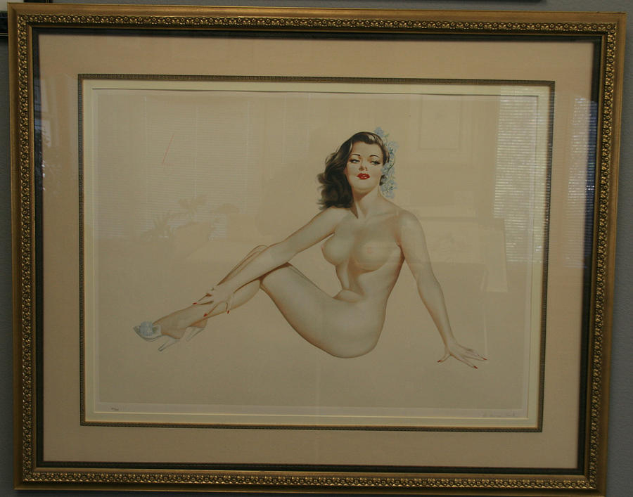 Alberto Vargas Mixed Media - The One And Only by Alberto Vargas
