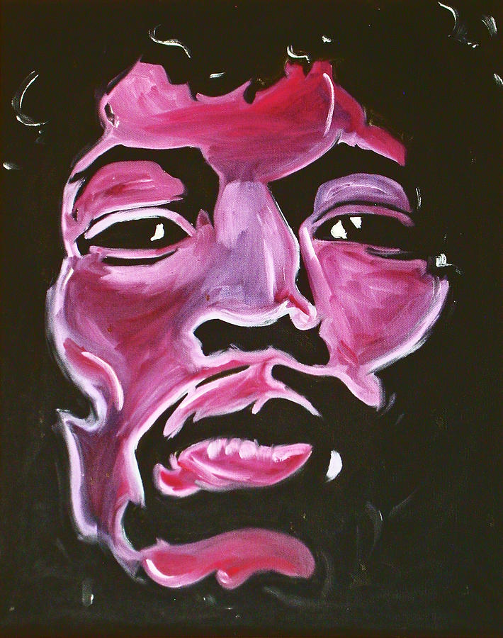 Pop Art Painting - The One And Only Hendrix by Joseph Palotas