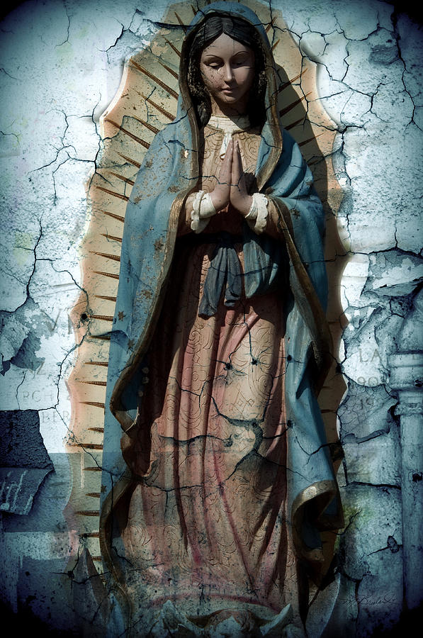 Virgin Of Guadalupe Photograph - The One Who Crushes The Serpent  by Melissa Wyatt