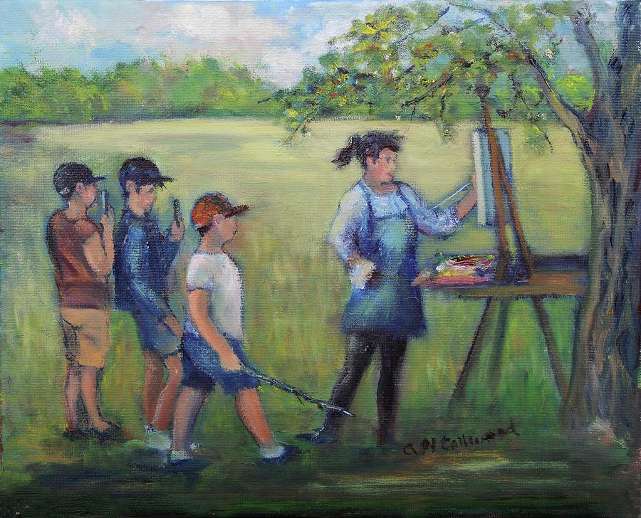 The Onlooker by Aurelia Nieves-Callwood