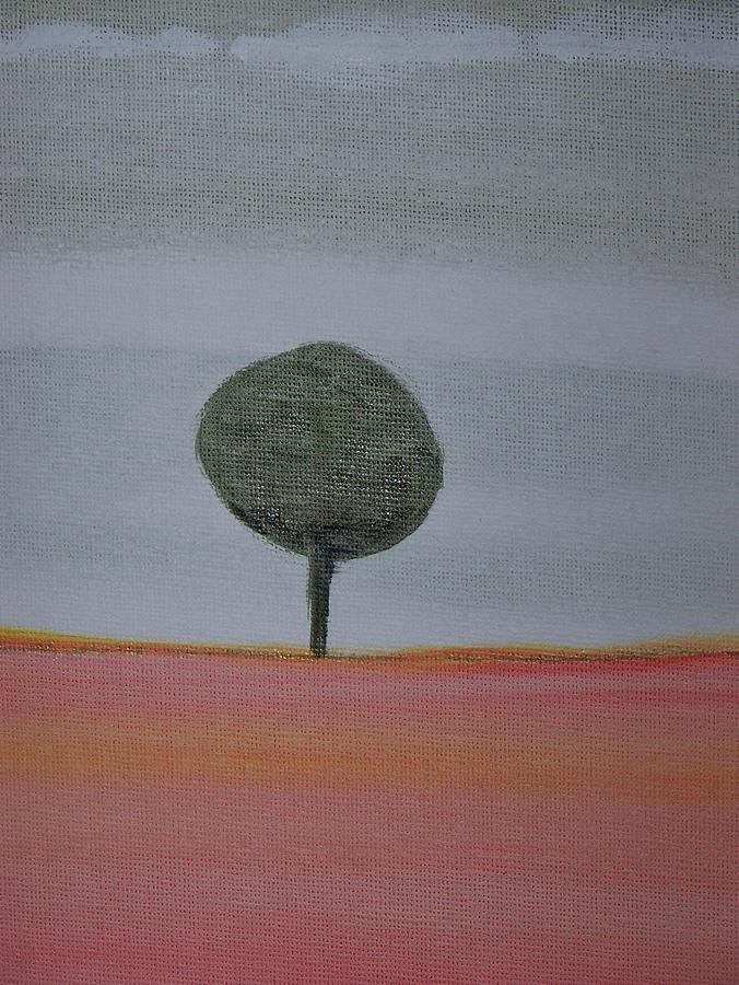 Tree Painting - The Only Tree Left by Ida Hes