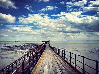Pier Photograph - The Only Way by Rossana Azzoni