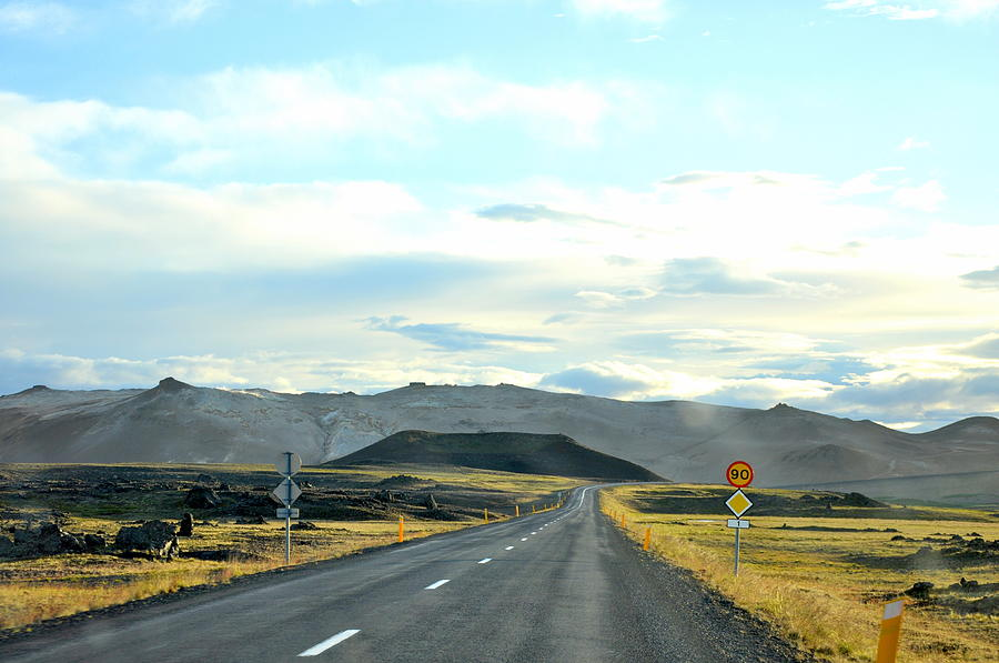Road Photograph - The Open Road by Ambika Jhunjhunwala