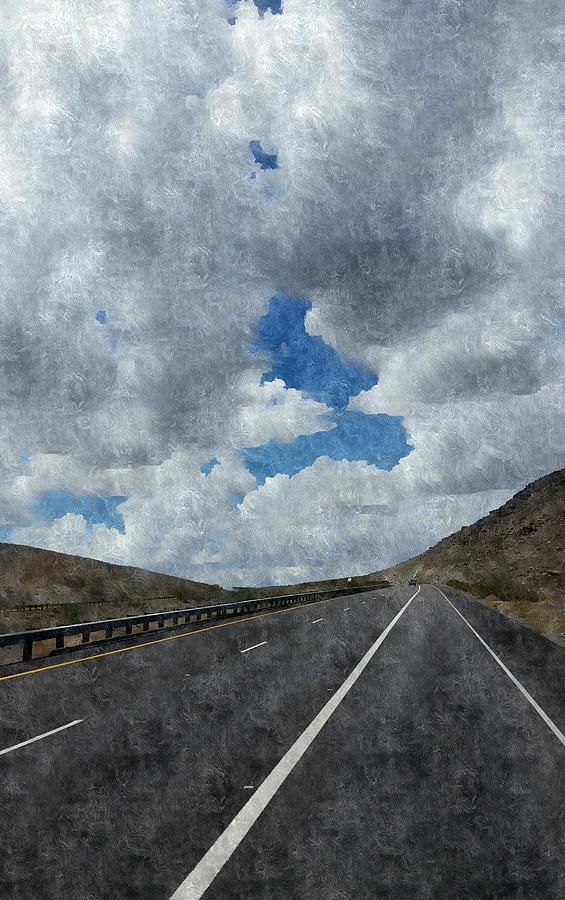 Road Trip Photograph - The Open Road by Bill Hamilton