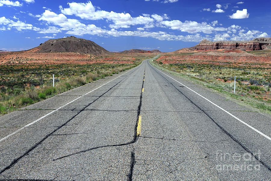 Road Photograph - The Open Road by Rick Mann
