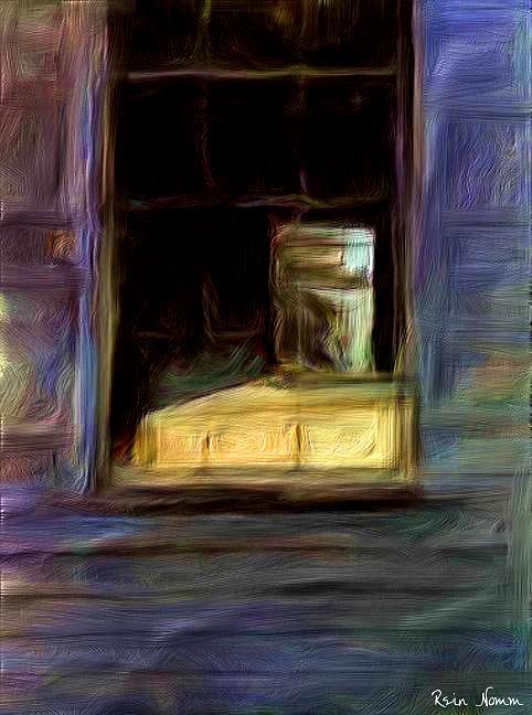 The Open Window Digital Art by Rein Nomm