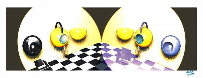 The Opposites Digital Art by Waldemar Max