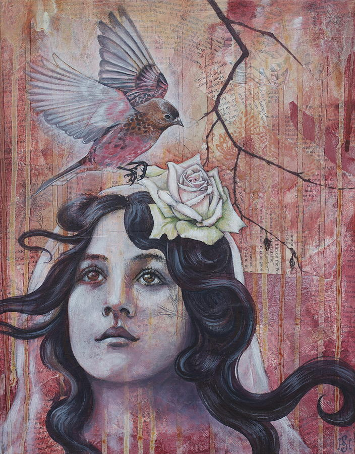 Oracle Mixed Media - The Oracle by Sheri Howe