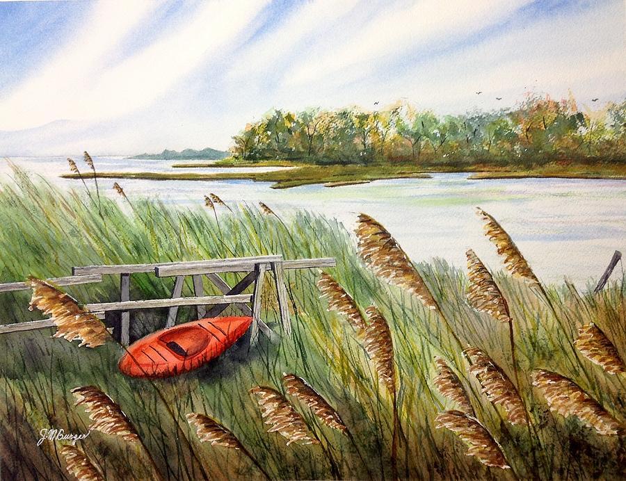 The Orange Kayak by Joseph Burger