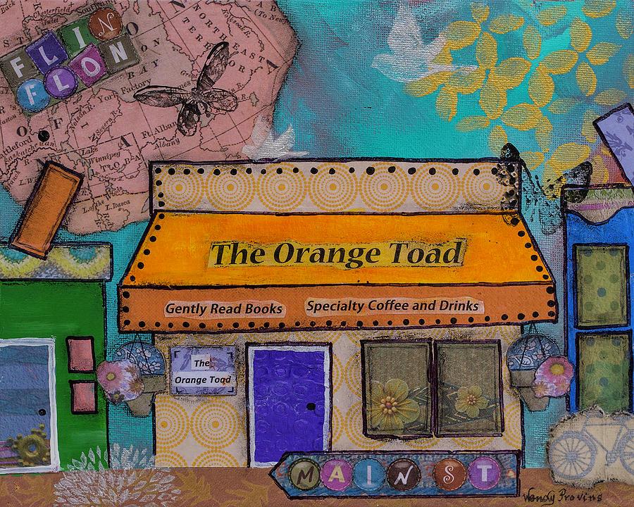 The Orange Toad by Wendy Provins