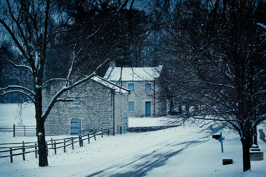 Snow Photograph - The Ordinance 2.0 by Kristy Creighton