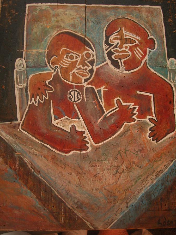 The Original Ancestors Painting by Robert Daniels