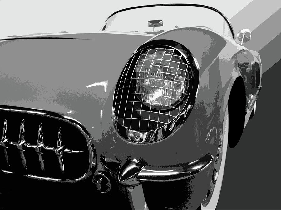 Automobile Photograph - The Original Vette by Dick Goodman