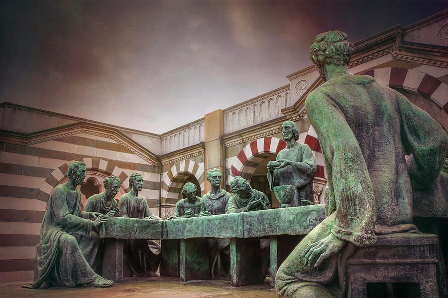 Milan Photograph - The Other Last Supper In Milan Italy by Carol Japp