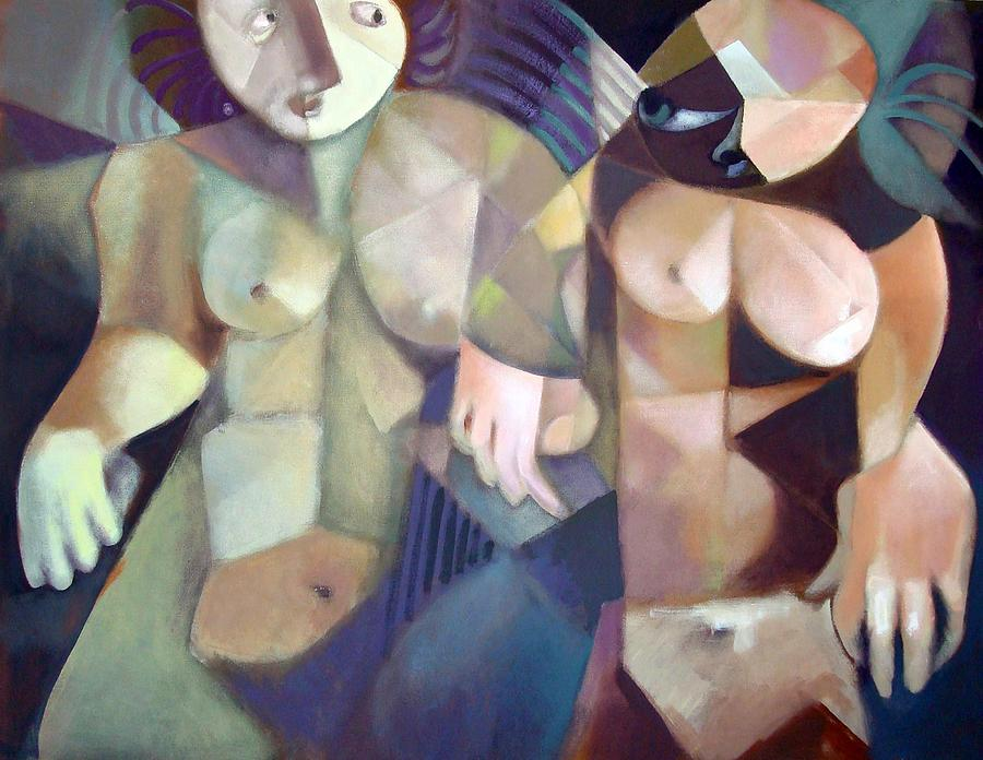 The Other Self Painting by Peter A Cerreta