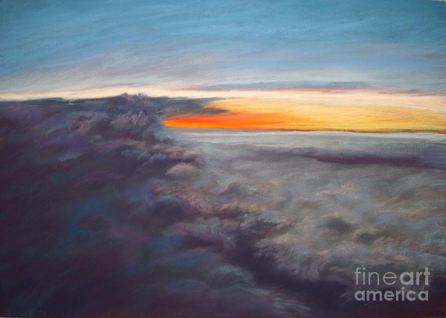 Sky Painting - The Other World by Addie Hocynec