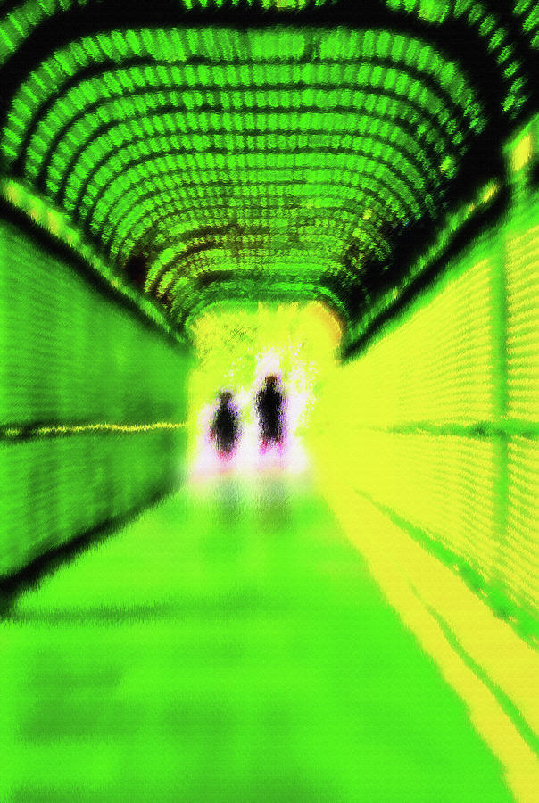Tunnel Photograph - The Others 2 by Steve Ohlsen