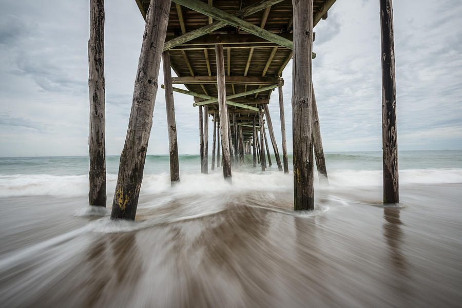 The Outer Banks North Carolina Fishing Pier by Rick Dunnuck
