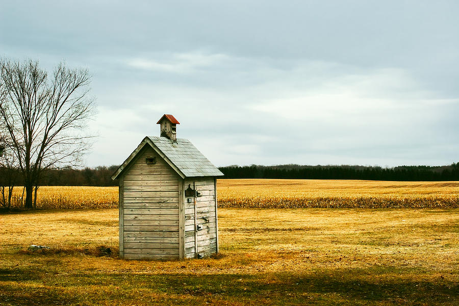 Outhouse Photograph - The Outhouse by Todd Klassy