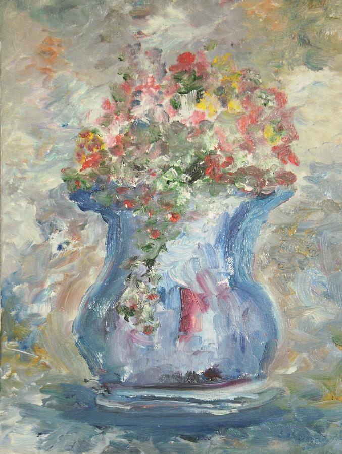 Still Life Painting - The Oval Vase by Edward Wolverton