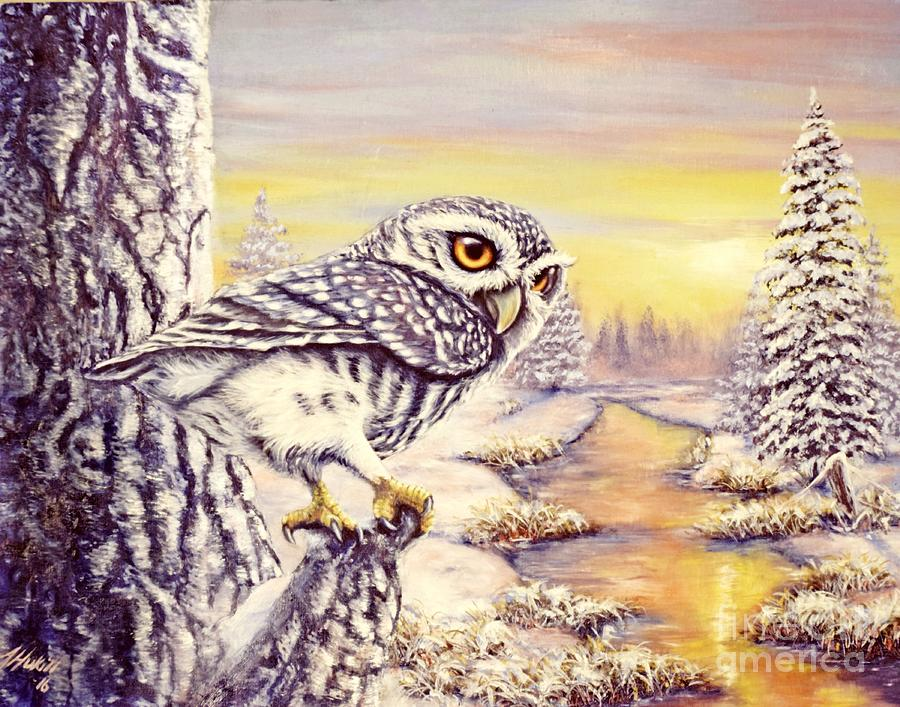 Oil Painting - The Overseer by Amanda Hukill