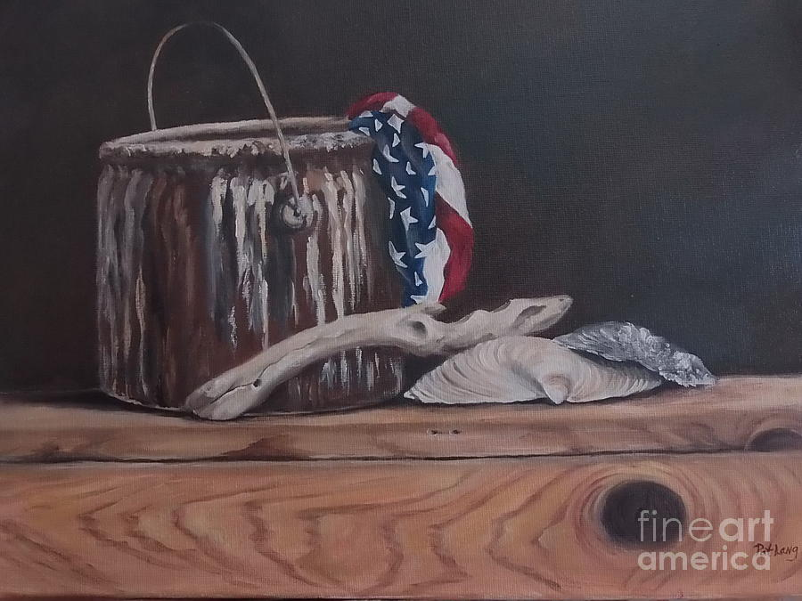 Paint Painting - The Paint Can by Patricia Lang