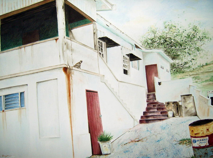House Painting - The Painters House by Brian Degnon