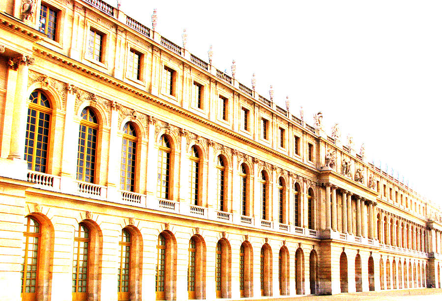 Versailles Photograph - The Palace by Amanda Barcon