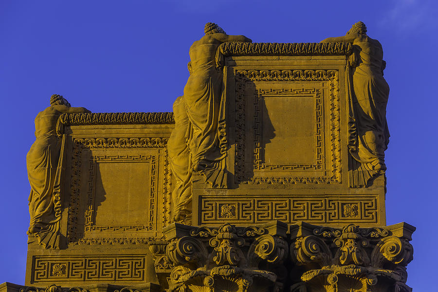 Palace Of Fine Arts Photograph - The Palace Of Fine Arts  by Garry Gay