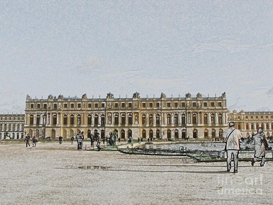 Palace Photograph - The Palace Of Versailles by Amanda Barcon