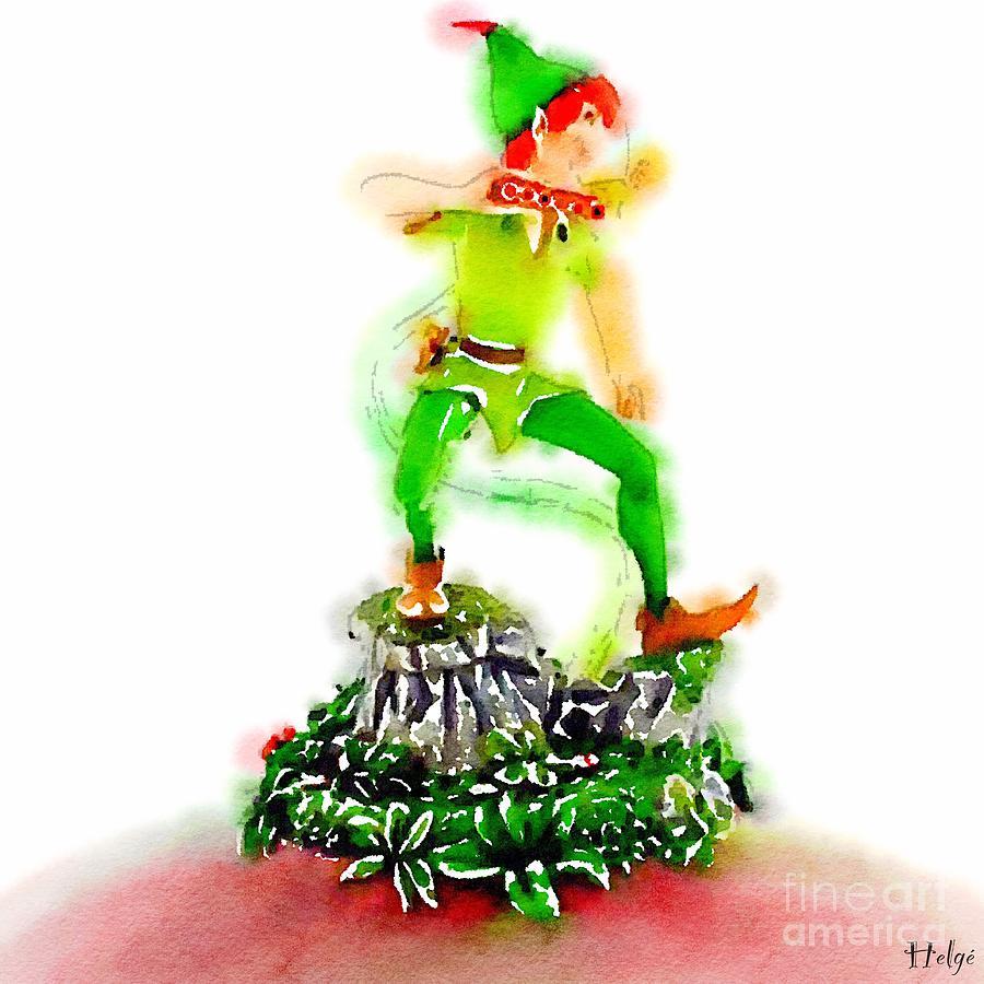 Peter Pan Painting - The Pan by Helge