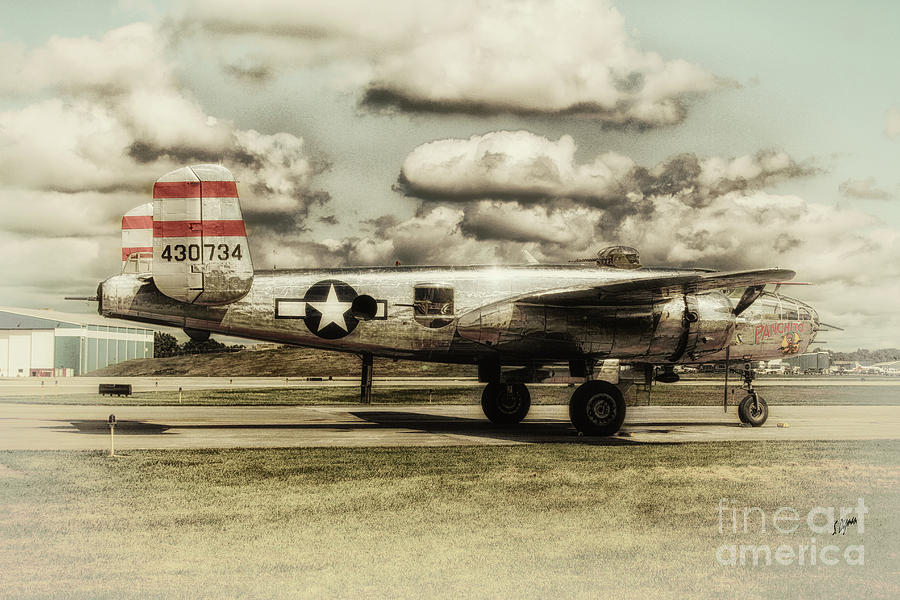 Airplane Photograph - The Panchito  by Steven Digman