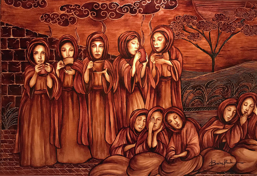 Sleep Painting - The Parable Of The Ten Virgins by Lilibeth Kindle