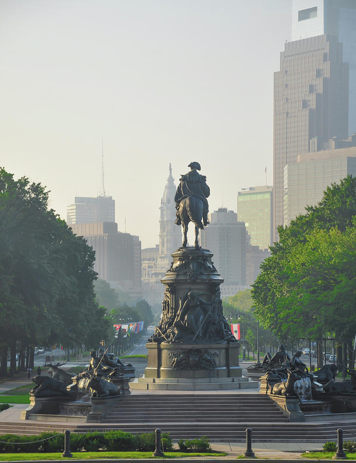 The Photograph - The Parkway - Philadelphia Pa by Bill Cannon