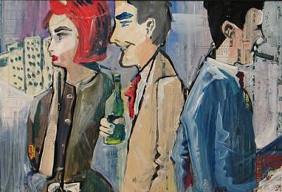 People Painting - The Party - Sold by Neil Blender