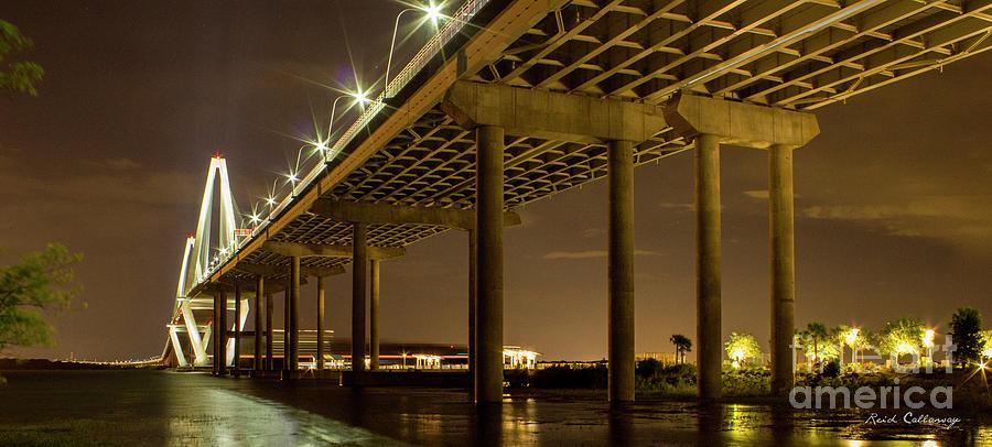 A Great Passageway Arthur Ravenel Jr Bridge Charleston South Carolina Photograph