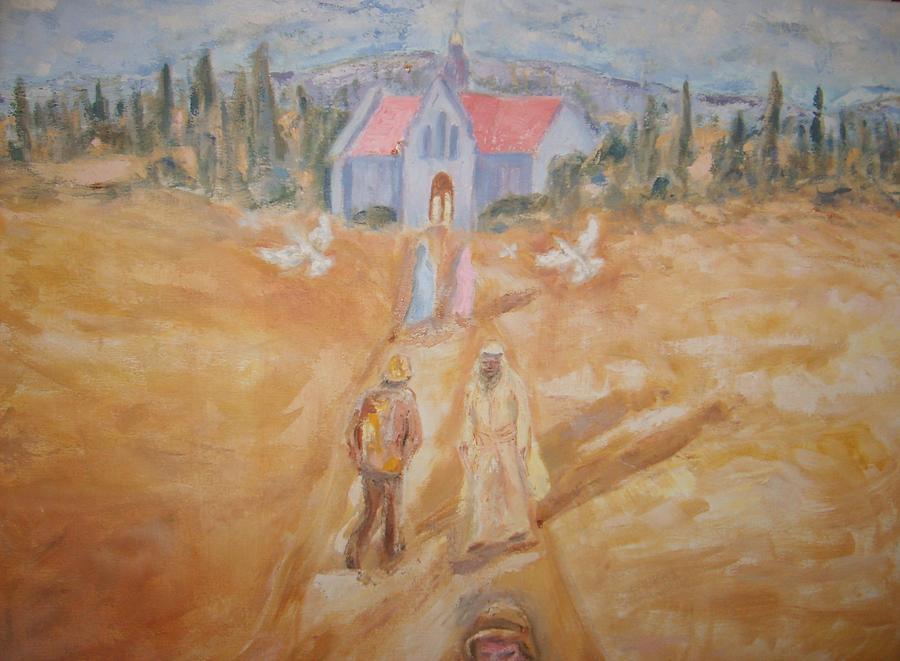 Landscape Painting - The Path by Joseph Sandora Jr