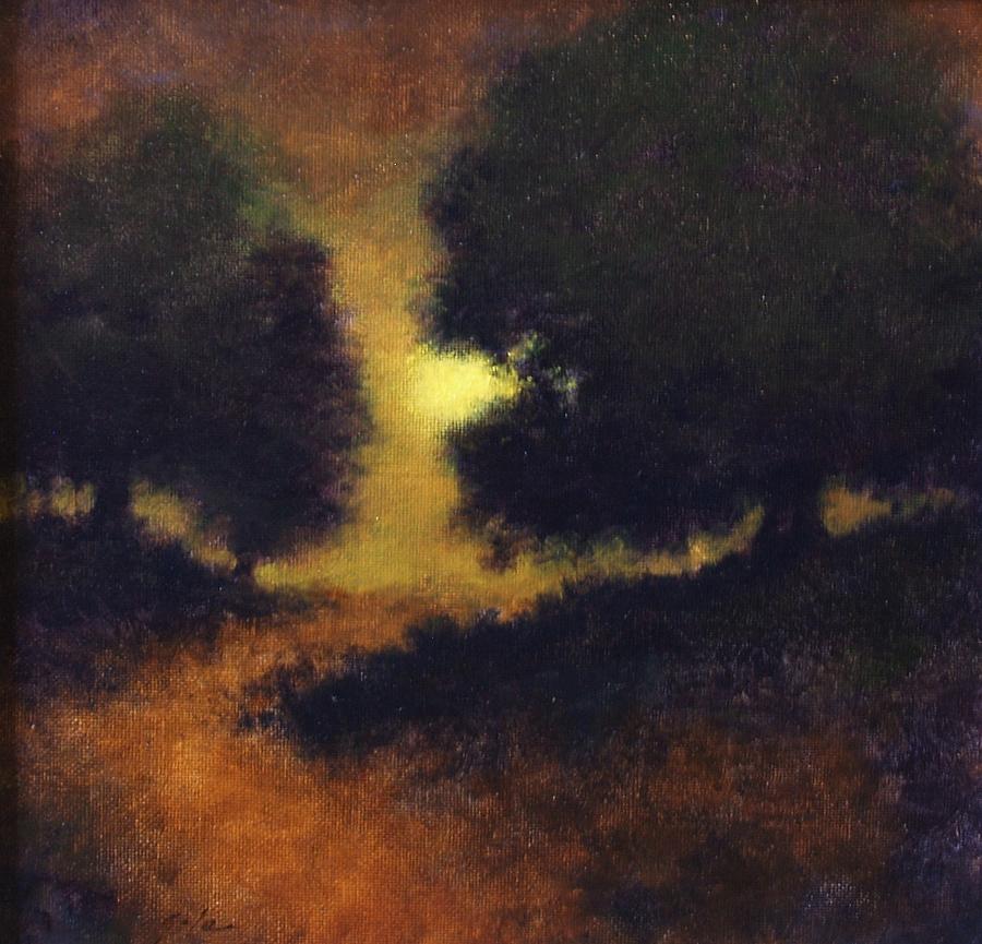 Landscapes Painting - The Path Less Trod by Jim Gola