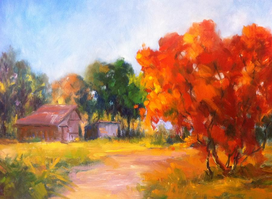 Landscape Painting - The Path Nearby by Patricia Lyle