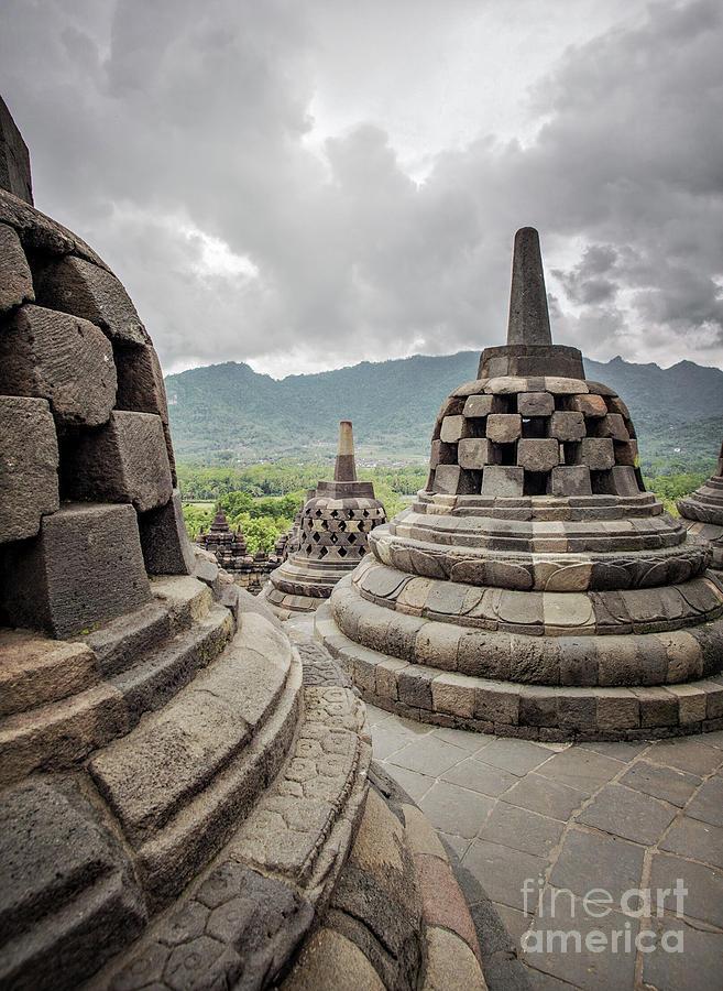 Borobudur Photograph - The Path Of The Buddha #2 by Edit Kalman