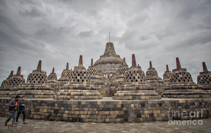 Borobudur Photograph - The Path Of The Buddha #3 by Edit Kalman