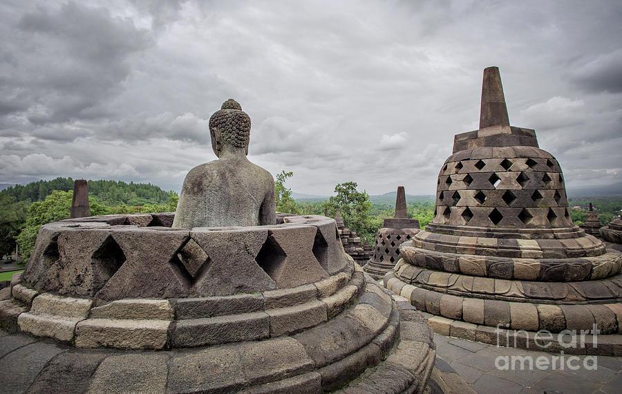 Borobudur Photograph - The Path of the Buddha #5 by Edit Kalman