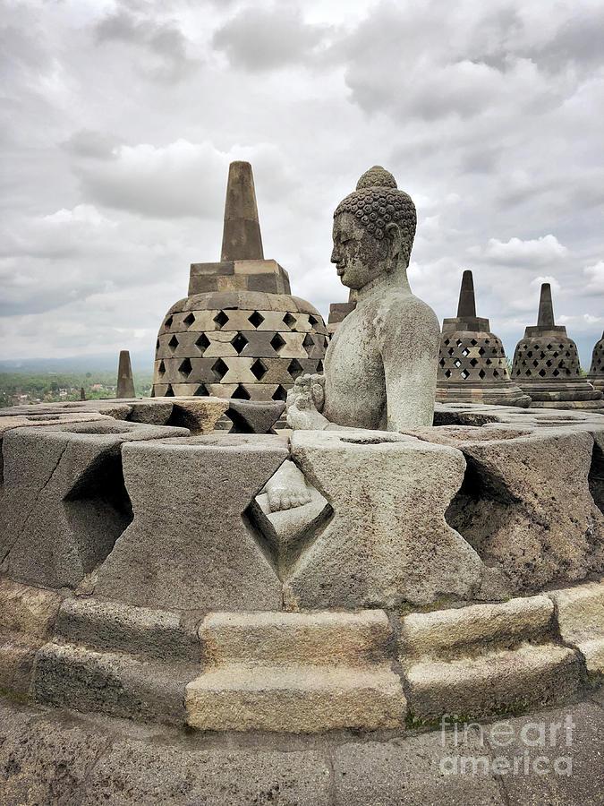 Borobudur Photograph - The Path of the Buddha #6 by Edit Kalman