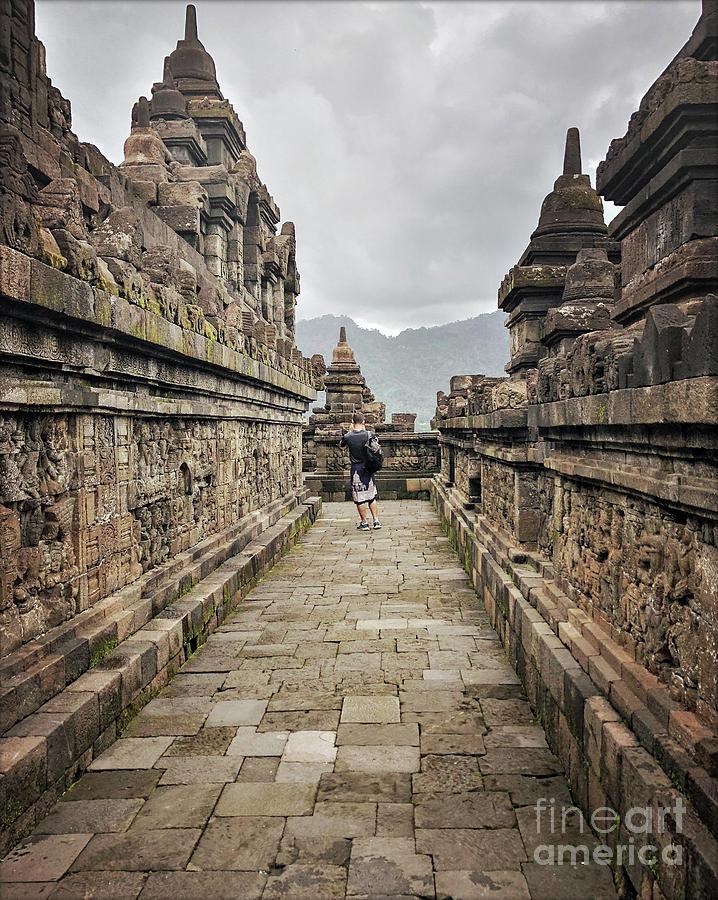 Borobudur Photograph - The Path Of The Buddha #7 by Edit Kalman