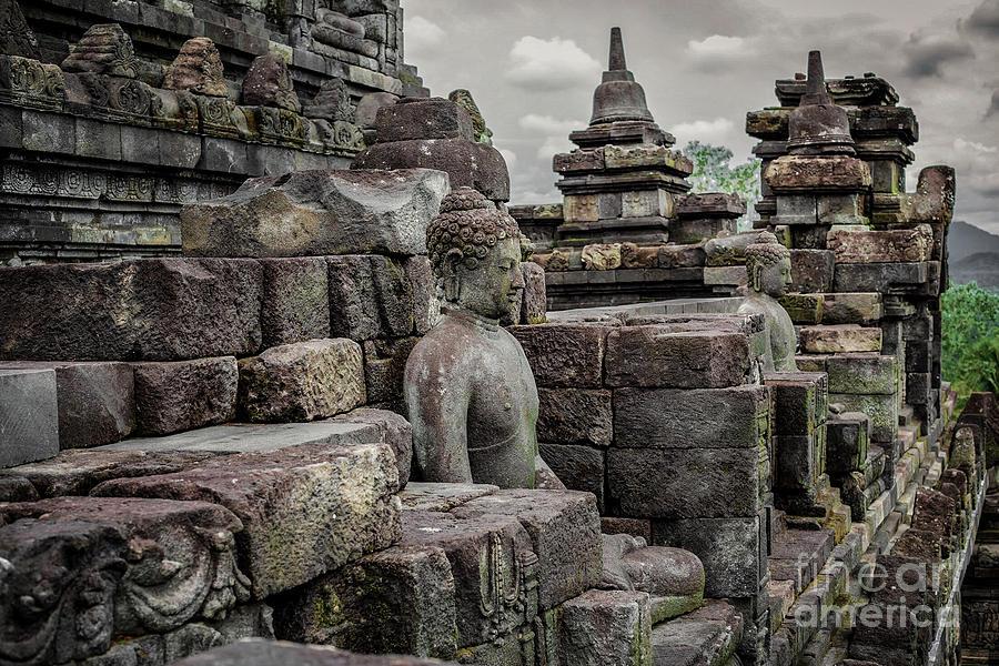 Borobudur Photograph - The Path of the Buddha #8 by Edit Kalman