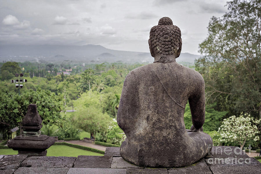 Borobudur Photograph - The Path of the Buddha #9 by Edit Kalman